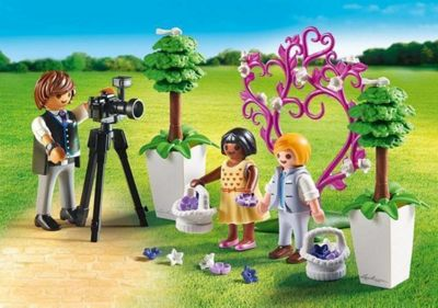 Playmobil Children with Photographer