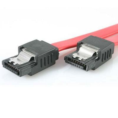 StarTech Latching SATA Cable Serial ATA / SAS cable Serial ATA 150/300 7 pin Serial ATA 7 pin Serial ATA 46 cm