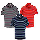 Woodworm Golf Clothes Select Stripe Mens Polo Shirts - 3 Pack - Multi