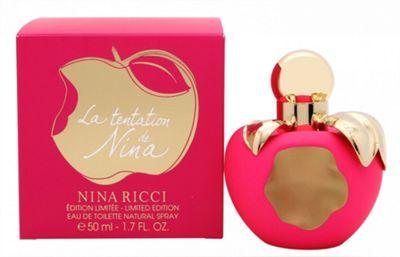 Nina Ricci La Tentation de Nina Eau de Toilette (EDT) 50ml Spray For Women