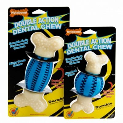 Nylabone Double Action Dental Chew (Regular/Small)