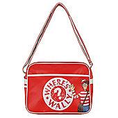 Wheres Wally Retro Red Messenger Bag
