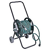 Tesco 30M Hose & Wheeled Reel Cart