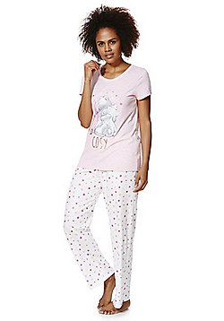 Me To You Tatty Teddy Pyjamas - Pink