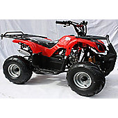 125cc 4 Stroke Quad Bike with Reverse Red