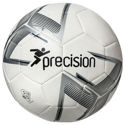 Precision Fusion Training Ball White/Silver/Black Size 4