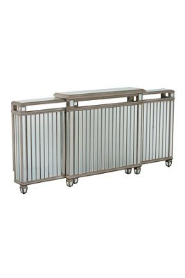 Antoinette Adjustable Mirrored Radiator Cover