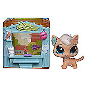 Littlest Pet Shop Mini Style Set - Meow Meow Milkone