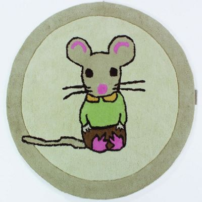 Pip Mouse Rug, Not Before Tea - 90 cm