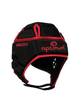 Optimum Junior Origin Headguard - Black/Red - Black