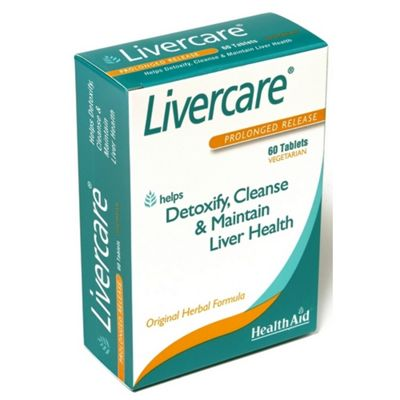 Health Aid Livercare 60 Tablets.