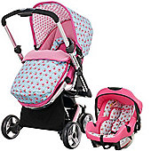 OBaby Chase Travel System (Cottage Rose)