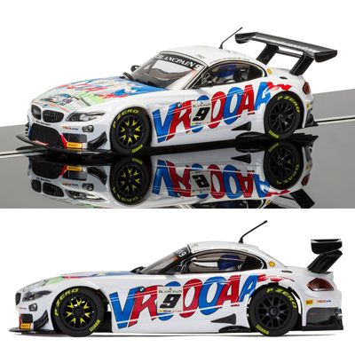 SCALEXTRIC Slot Car C3855 BMW Z4 GT3 ROAL Motorsport Spa 2015