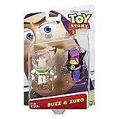 Disney/Pixar Toy Story 4 Figure Buzz & Zurg #DPF05