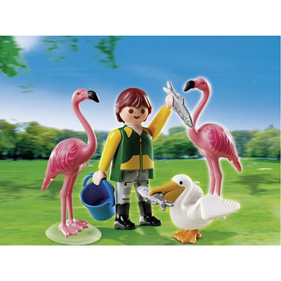 Playmobil - Keeper with Flamingos 4758