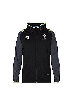 Canterbury Ireland Rugby Fleece Full Zip Hoody 2017 - Tap Shoe - Grey