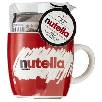 Nutella Breakfast Gift Mug