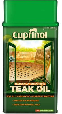 Cuprinol Garden Furniture - Teak Oil - 1 Litre