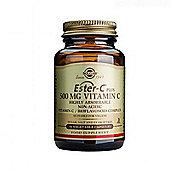 Solgar Ester-C Plus Vitamin C 500mg Vegicaps 50