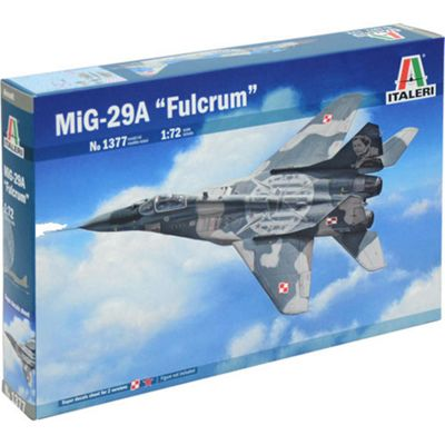 ITALERI 1377 MIG 29A Fulcrum 1:72 Aircraft Model Kit