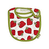 Strawberry print bib