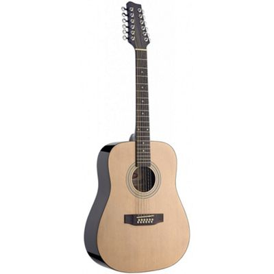 Stagg SW205/12 N 12 String Acoustic Guitar - Natural