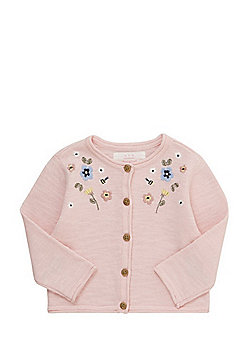 F&F Embroidered Cardigan - Pink
