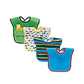 B Baby's Transport Bibs - 4 Pack