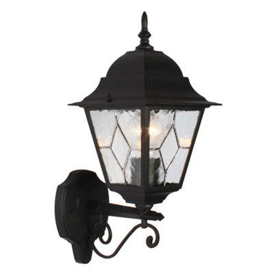 Traditional Black Cast Aluminium Outdoor Wall Light