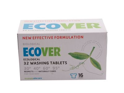 Ecover 1115 Laundry Tablets 16x2pk