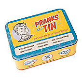 Funtime Pranks in a Tin Playset