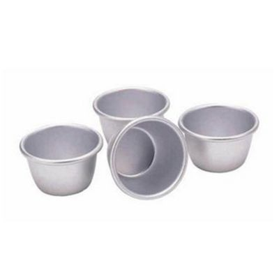 Kitchen Craft Mini Pudding Moulds, 7.5cm, Set of 4