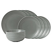 Gordon Ramsay Maze Dark Grey 12pc Dinner Set