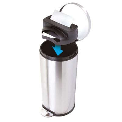 JML Trash Tidy: Quick & Easy Rubbish Bin Bag Bin Liner Dispenser & 15 x 50L Bin Bags/Liners