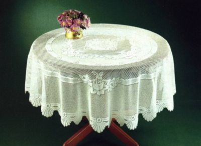 Monica Lace Rose Tablecloth - 36