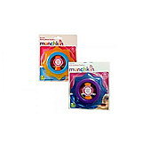 Munchkin Fun Ice Rolling Wheel Teether Star Pack of 2