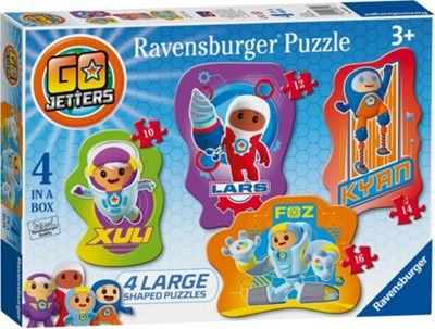 Go Jetters - 4 in 1 Shaped Puzzles