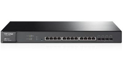 TP-Link T1700X-16TS JetStream 12-Port 10GBase-T Smart Switch with 4 10G SFP+ Slots