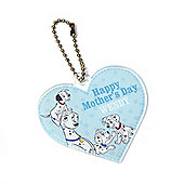 Disney 101 Dalmatians Personalised Mother's Day Keyring