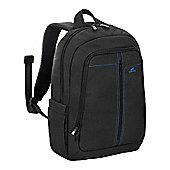 Rivacase 7560 Water-resistant Lightweight Canvas Backpack For 15.6 Inch Laptops, Black (4260403570043) - Accessories