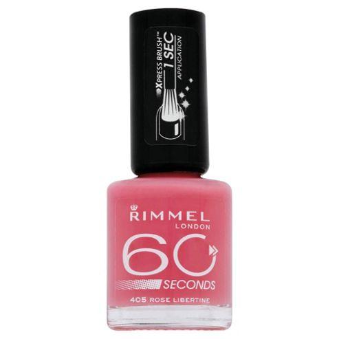 Rimmel 60 Secondnail Polish Rose Libertine