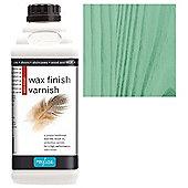 Polyvine Wax Finish Varnish - Green - 500ML