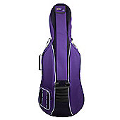 Tom and Will 1/2 Size Padded Cello Bag - Purple & Black