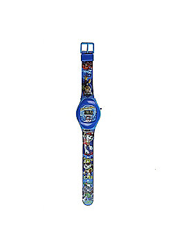 Paw Patrol Boys 'Digital Metal Tin Gift' Wrist Watch