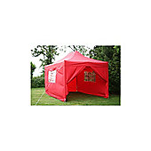 Airwave Pop Up Gazebo Fully Waterproof 4.5x3m in Red