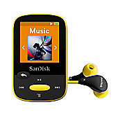 SanDisk Clip Sport 8GB MP3 Player - Yellow
