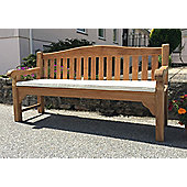 Four Seater Bench Cushion Natural