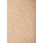 Graham & Brown Savannah Textured Damask Gold Wallpaper