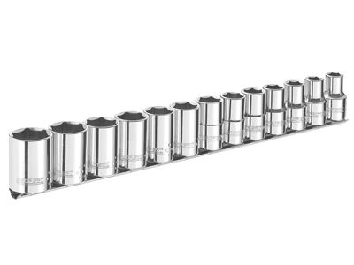 Expert Socket Set of 13 A/F 3/8in Drive