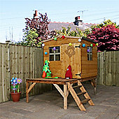 6 x 5 Sutton Apex Tower Wooden Playhouse (6ft x 5ft) - Fast Delivery - Pick A Day